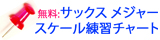 Tomosax サックス メジャー スケール 練習チャート